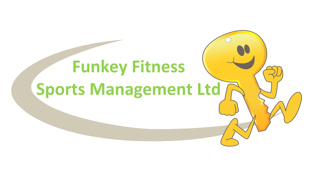 Funkey Fitness Sports Management Logo